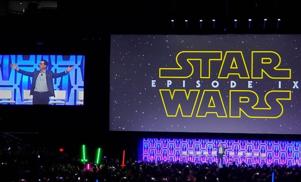 star wars celebration stephen colbert