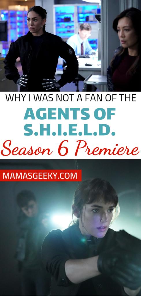 Agents of SHIELD Season 6 Premiere