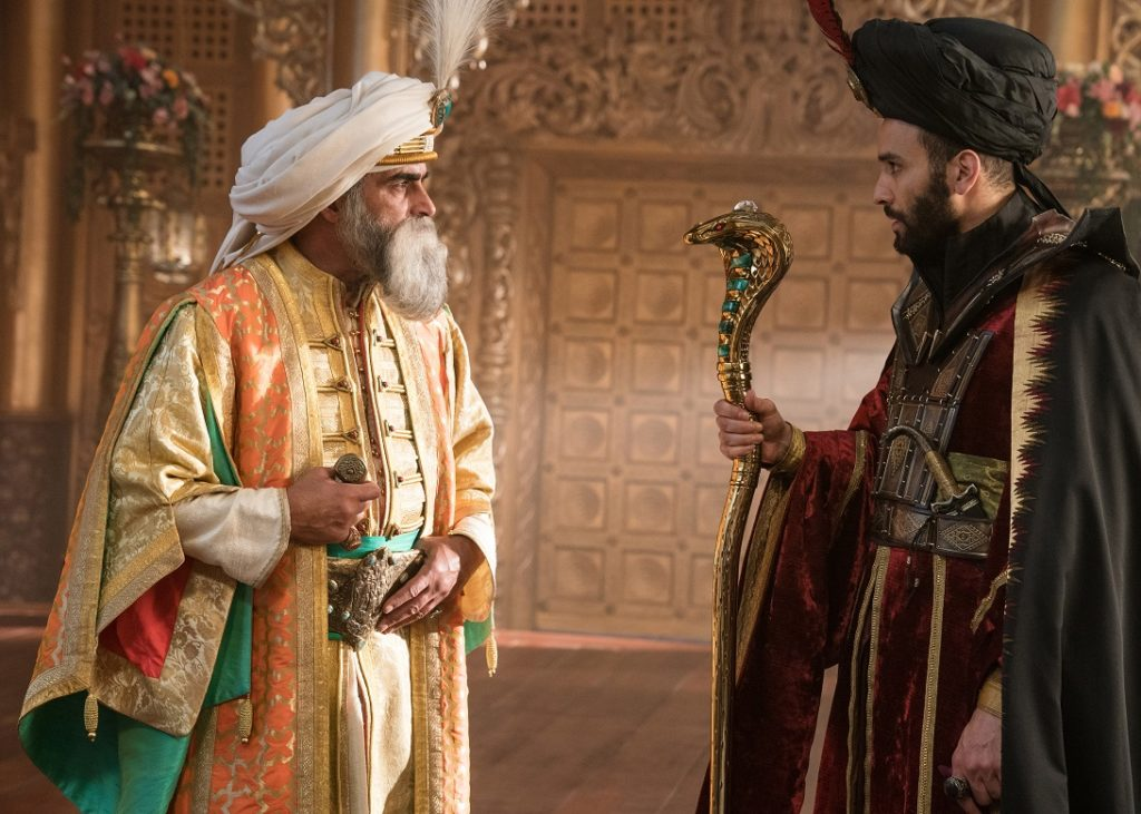 Sultan and Jafar in Aladdin