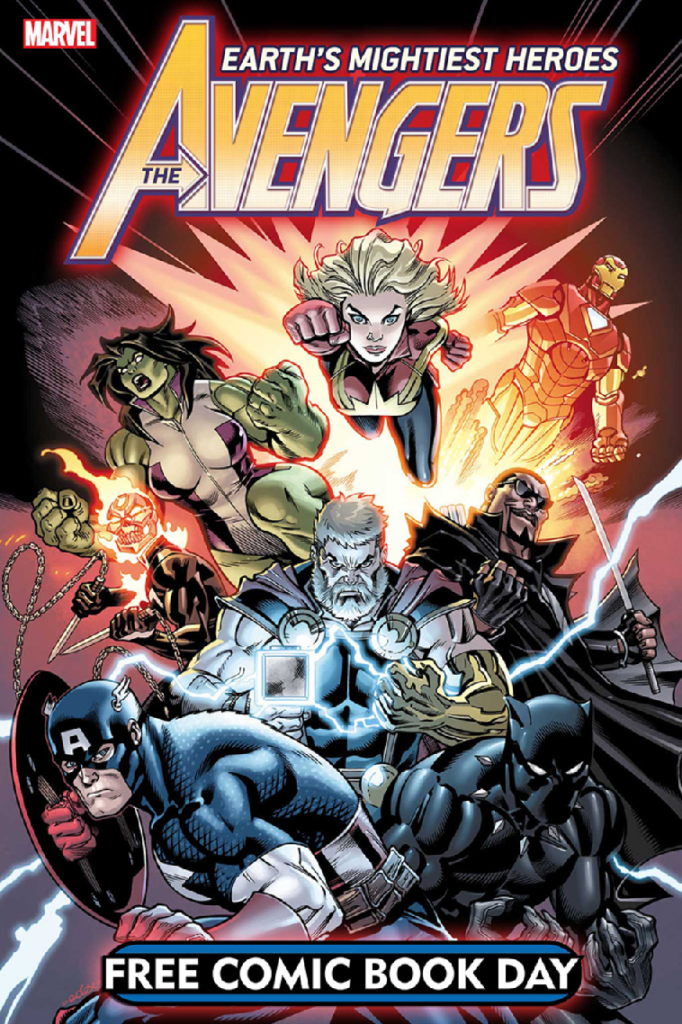 Avengers Free comic book day