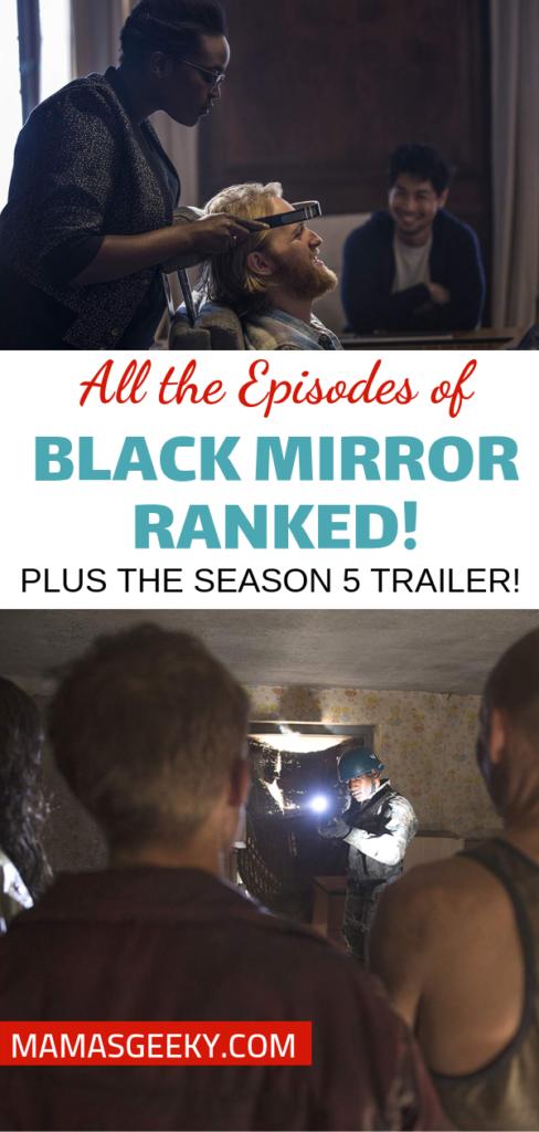 Black Mirror Episodes Ranked