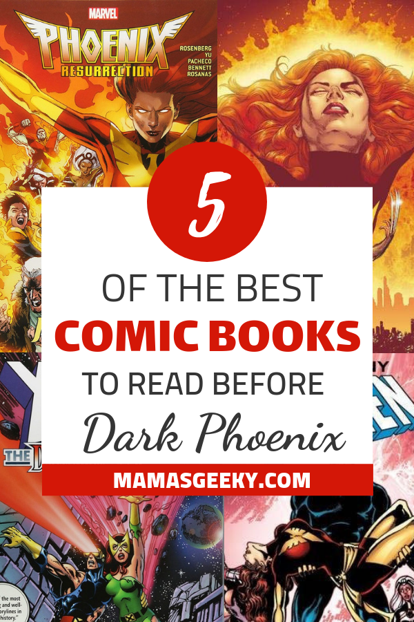 Comics to read before Dark Phoenix
