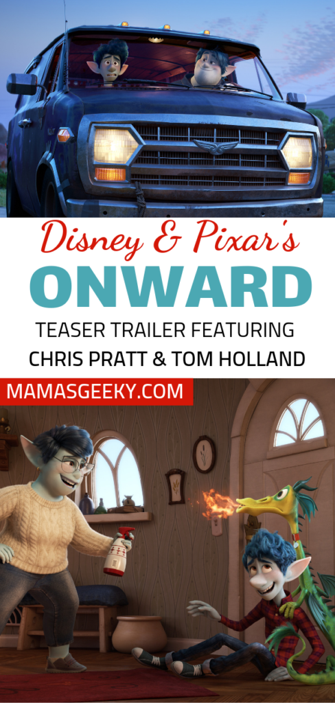 Disney Pixar Onward Trailer