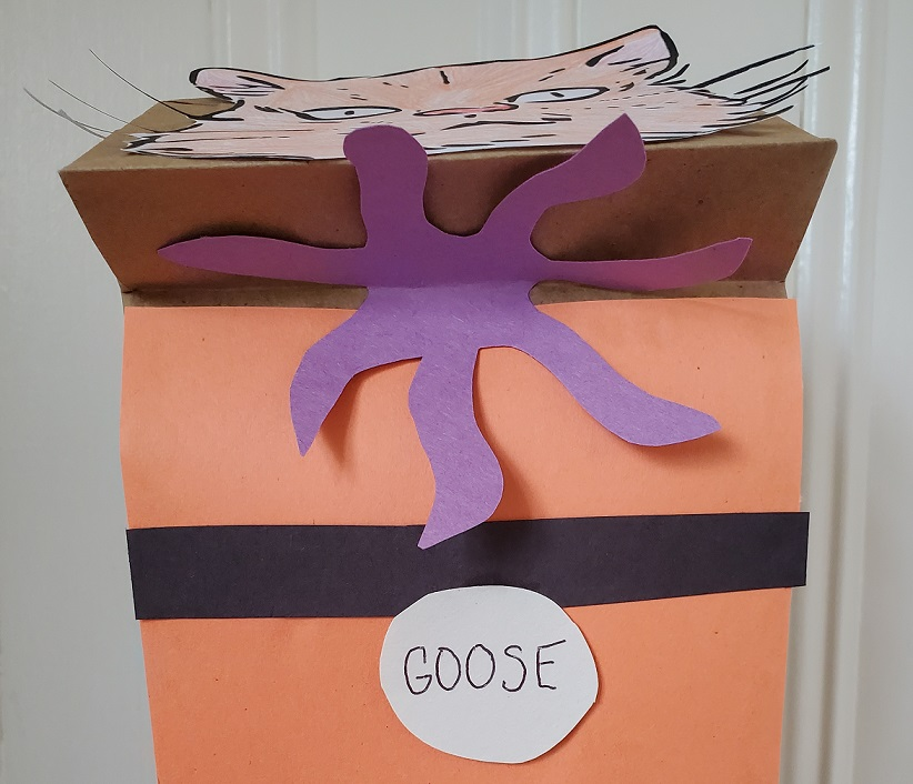 Goose the Cat DIY Puppet Flerken