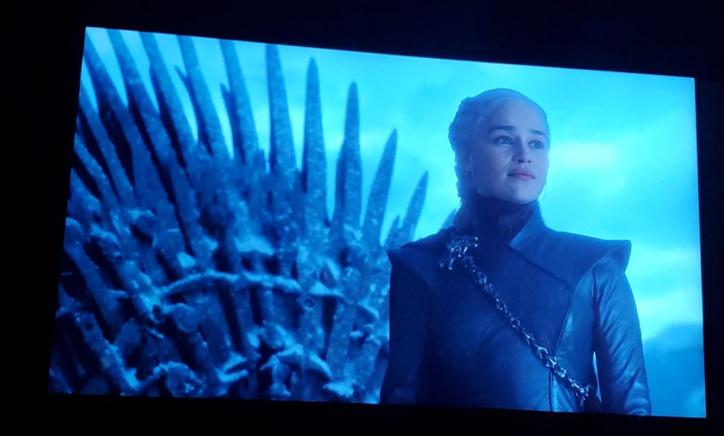 Iron Throne Dany