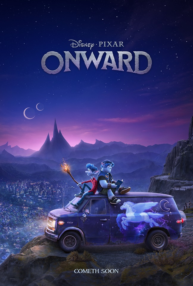 Pixar's Onward Poster