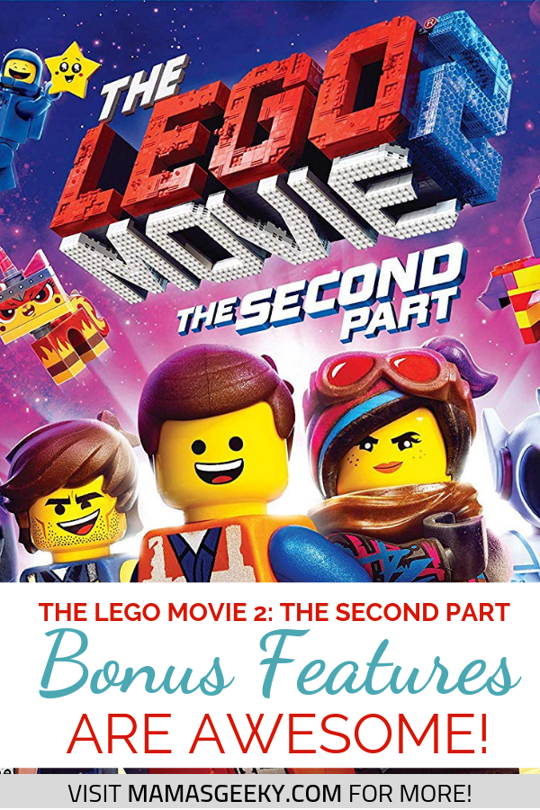 The LEGO Movie 2 Bonus Features