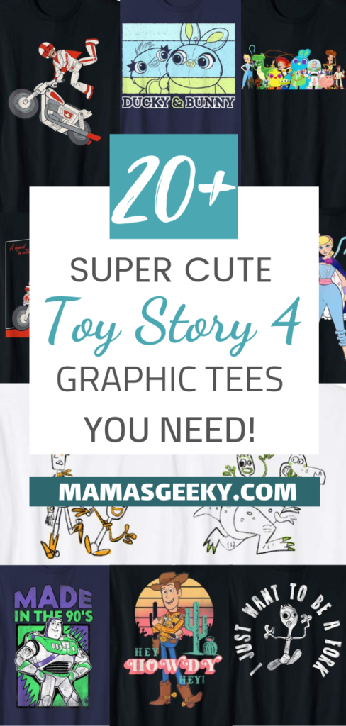 Toy Story 4 Graphic Tees