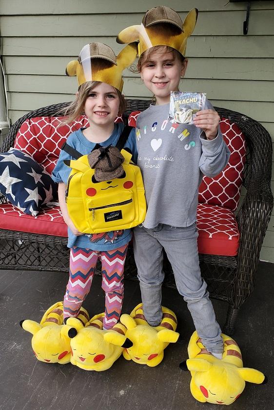 detecitve pikachu prize pack