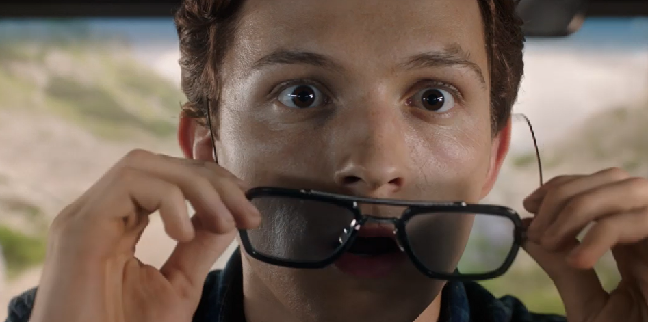 spider-man far from home tony's glasses