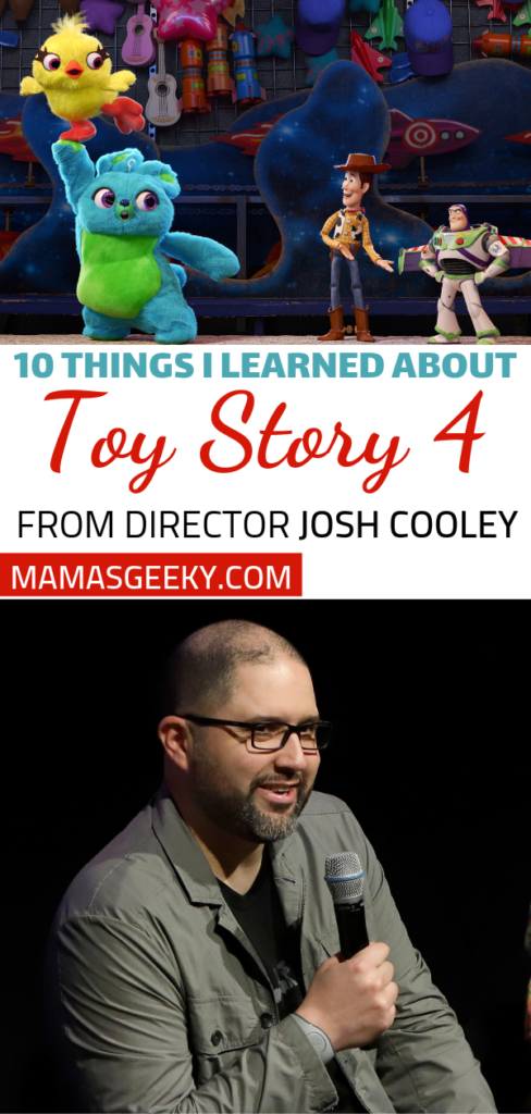 10 things i learned about toy story 4 from director josh cooley