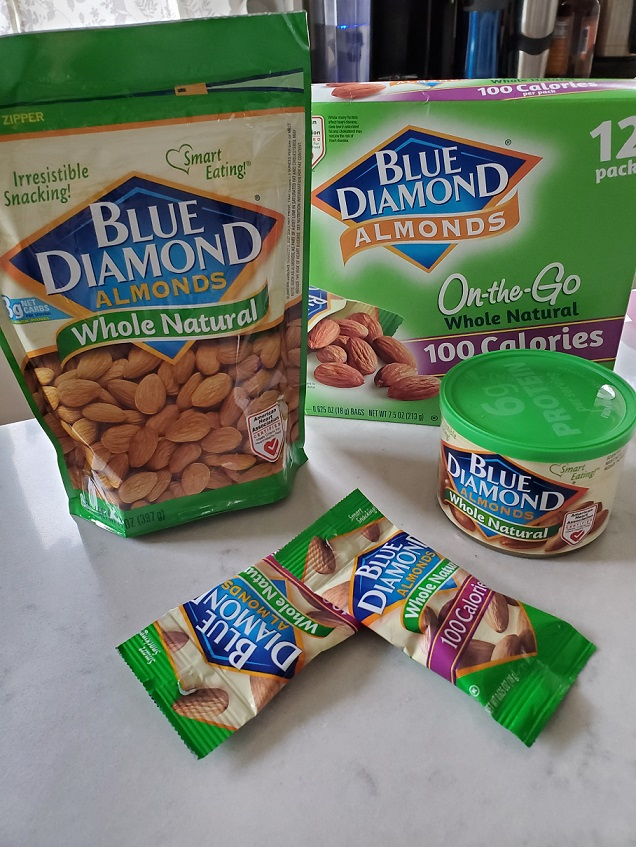 Blue Diamond Whole Natural Almonds products
