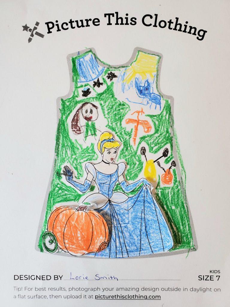 Cinderella Dress 1