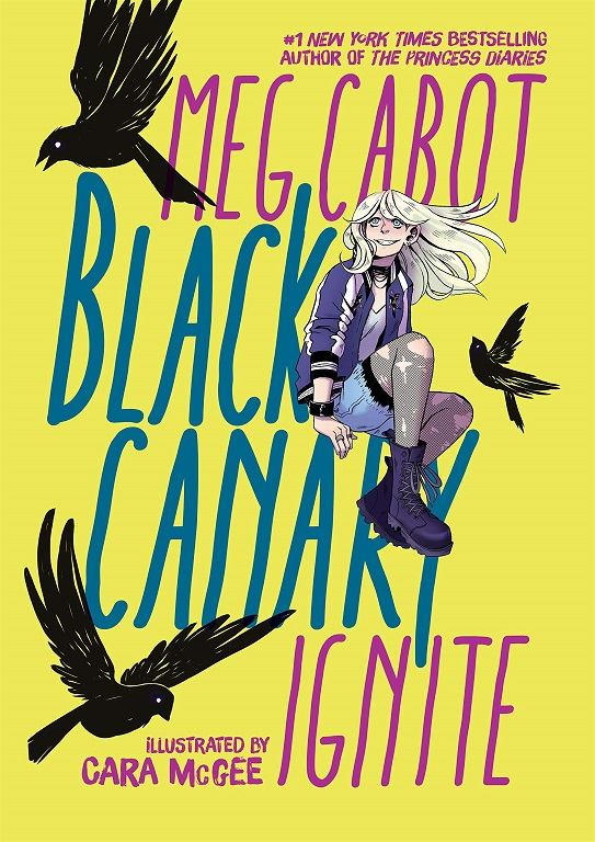 DC Zoom Black Canary Ignite