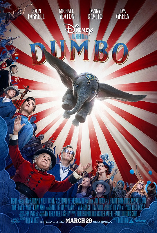 Dumbo live action poster