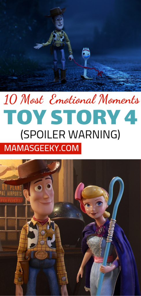 Emotional Moments Toy Story 4