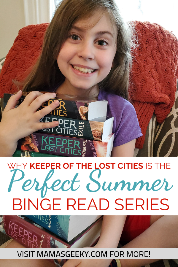 Keeper of the Lost Cities Summer Binge Read