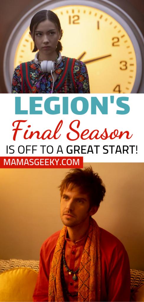 Legion Final Season premiere review
