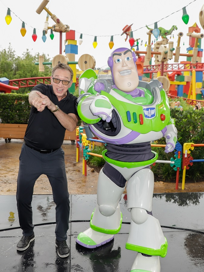 Tim Allen Buzz Lightyear Toy Story 4