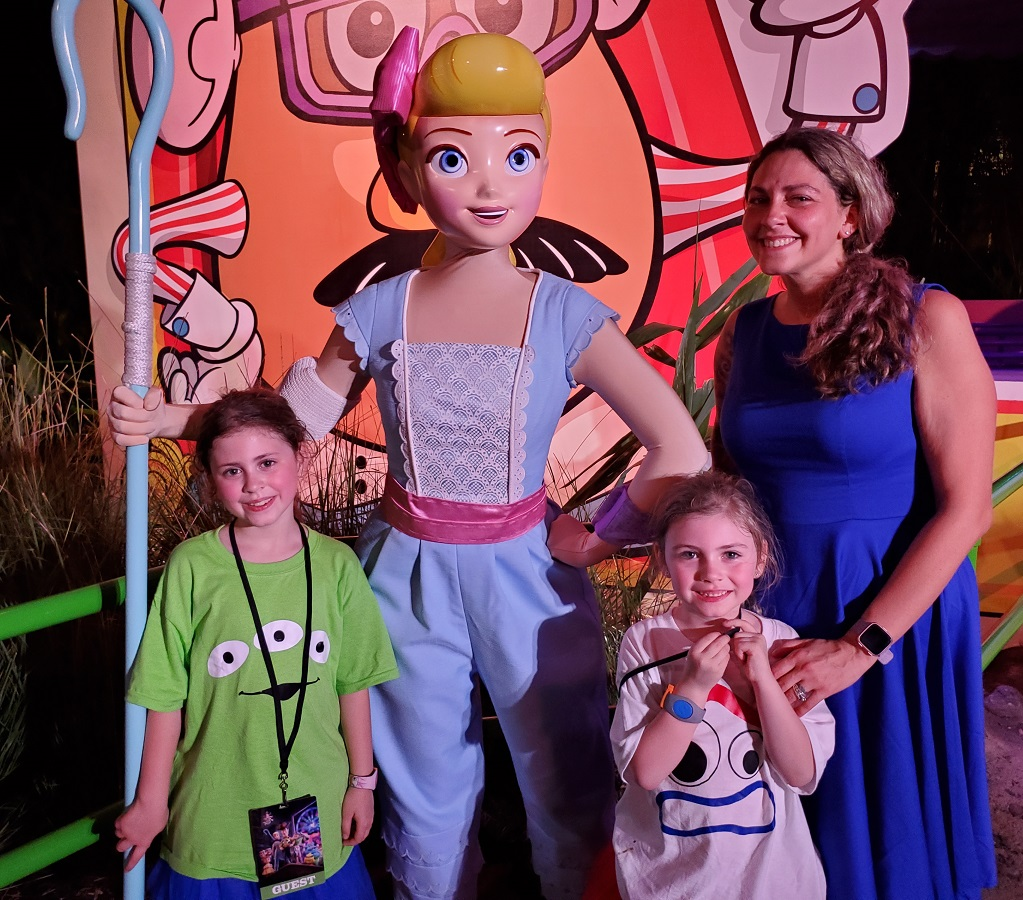 Toy Story Land Bo Peep Meet and Greet