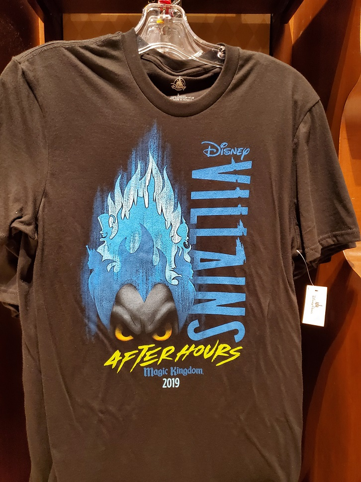 Villains After Hours exclusive tshirt