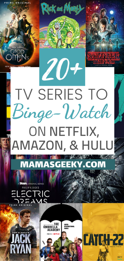20+ Series to Summer Binge on Netflix, Amazon Prime, & Hulu