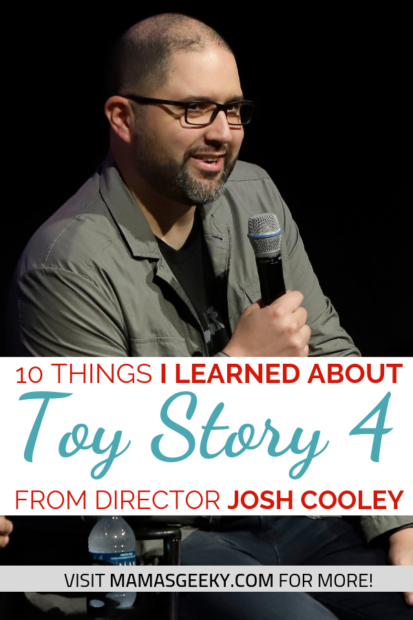toy story 4 director josh cooley