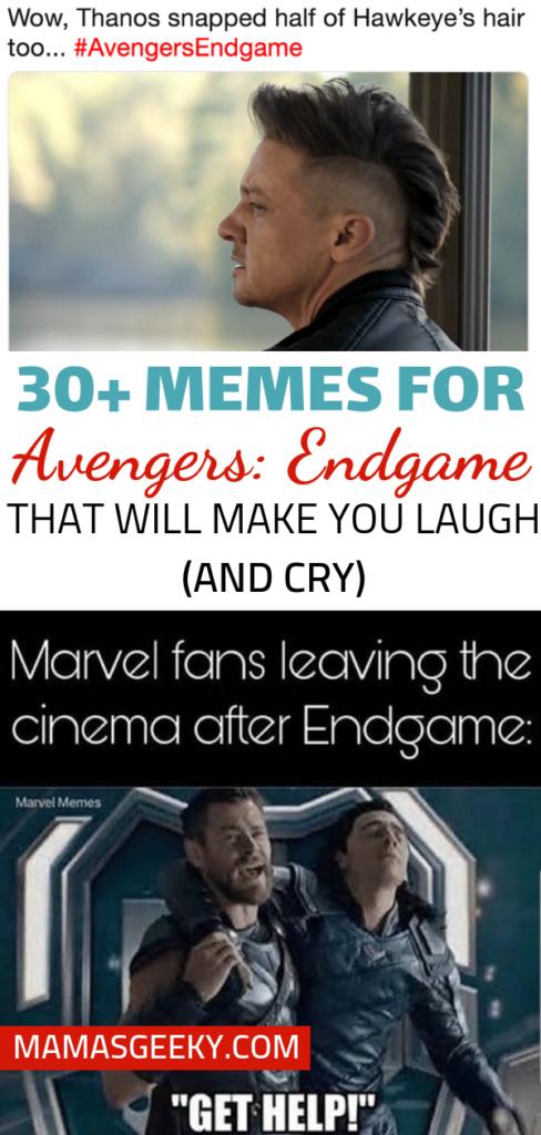 30+ avengers endgame memes
