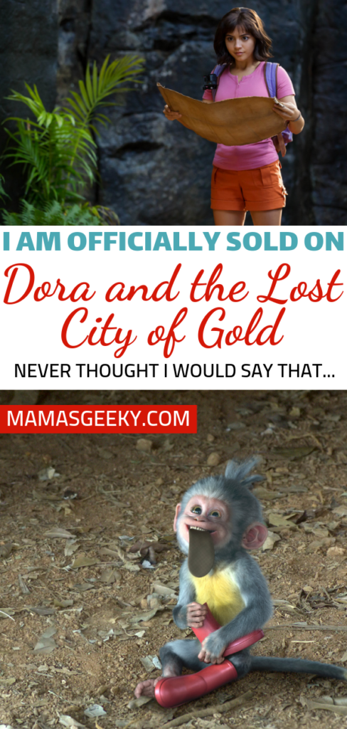 I Am Officially Sold On Dora And The Lost City Of Gold