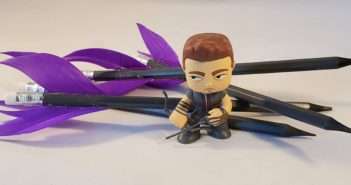 Hawkeye Bullseye DIY Arrow Pencils