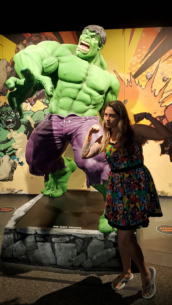 Marvel Exhibit Tour