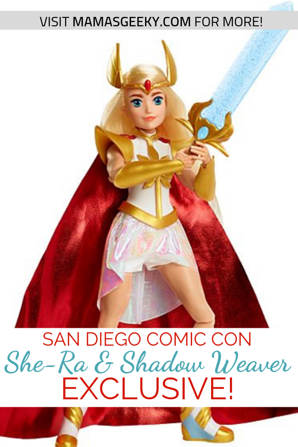 She-Ra and Shadow Weaver SDCC Exclusive Mattel