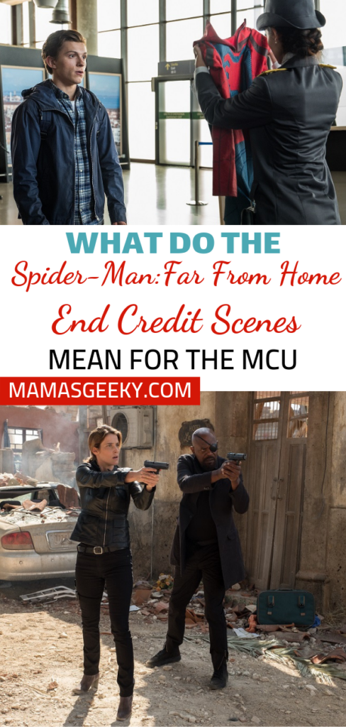 Spider-Man Far From Home End Credit Scenes
