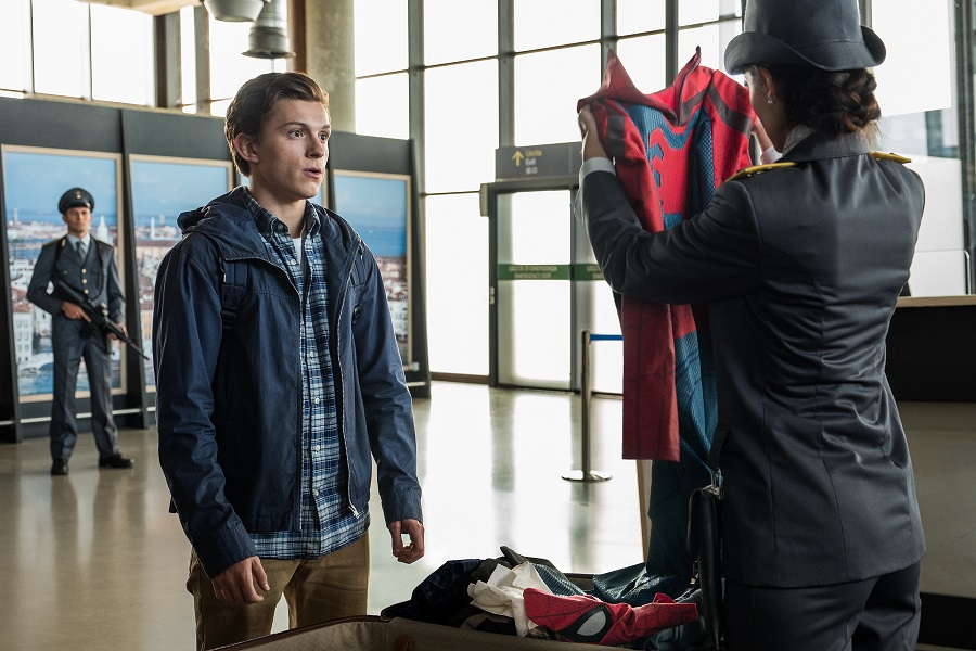Spider-Man Far From Home peter suit