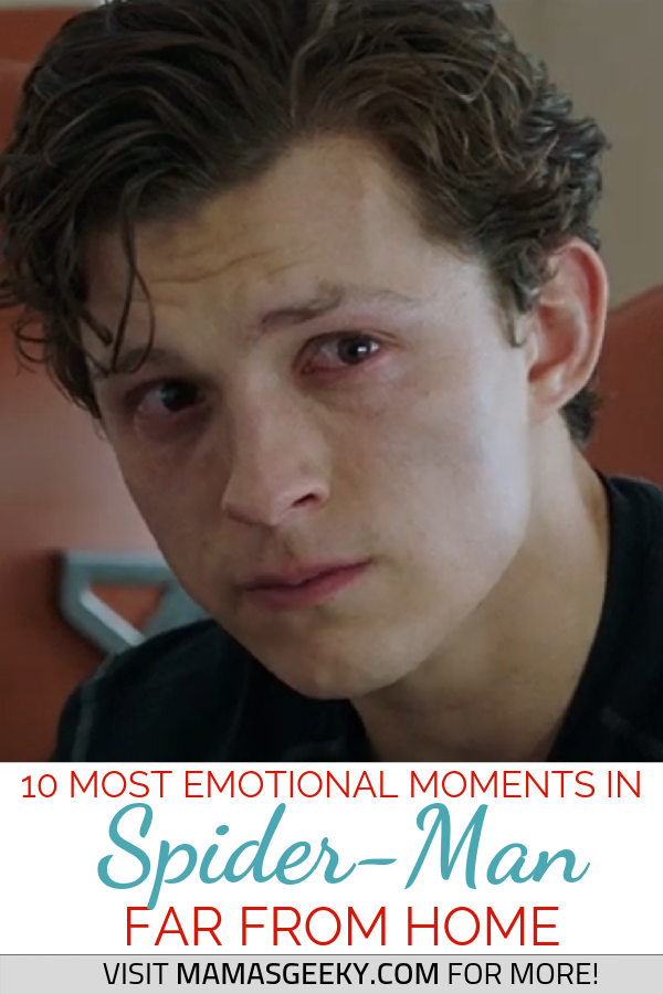 spider-man far from home emotional moments