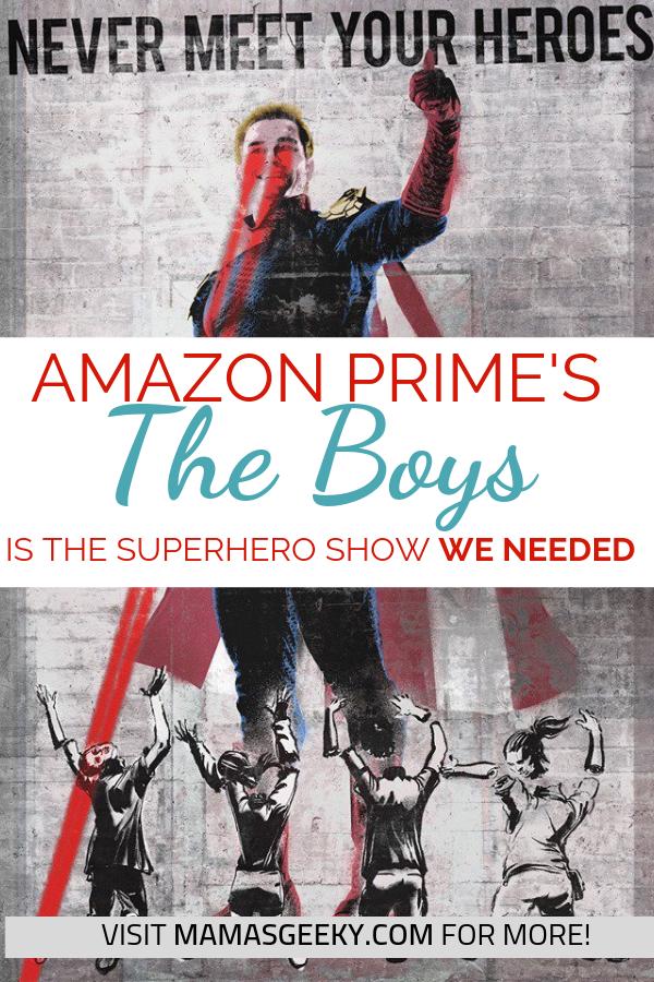 the boys review amazon prime