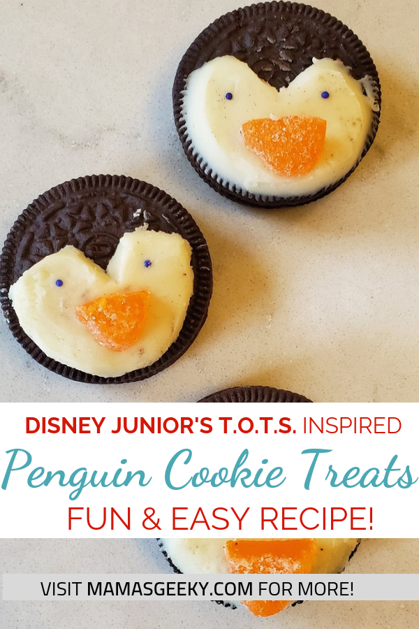 DIY Penguin Cookie Treats