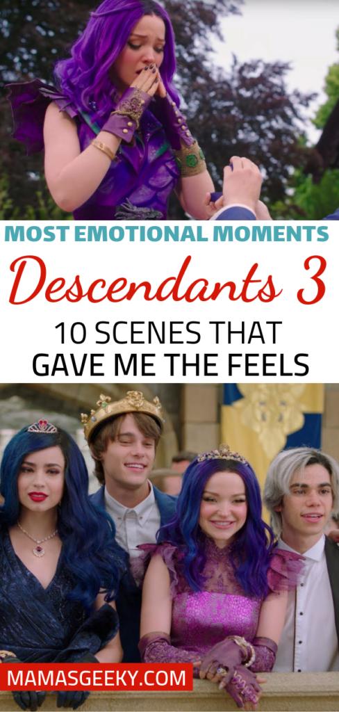 Descendants 3 most emotional moments