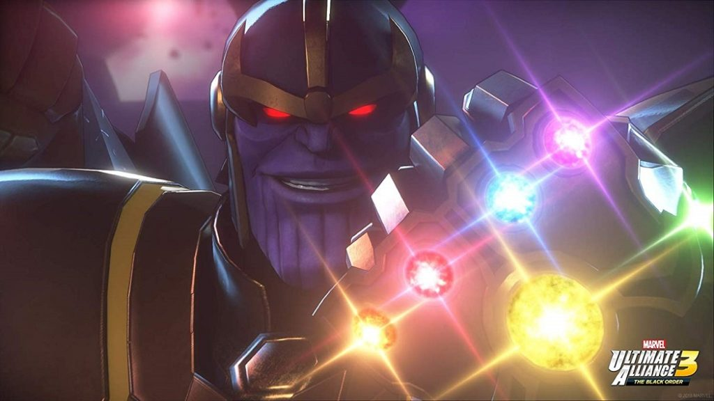 Marvel Ultimate Alliance 3 infinity stones