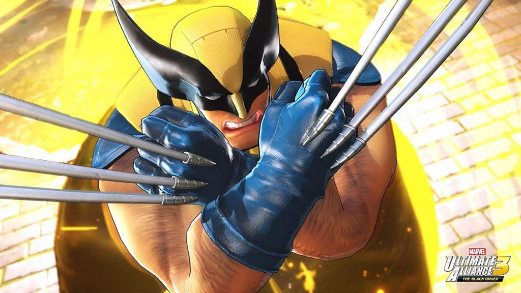 Marvel Ultimate Alliance 3 wolverine