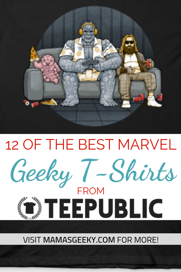 best marvel teepublic shirts