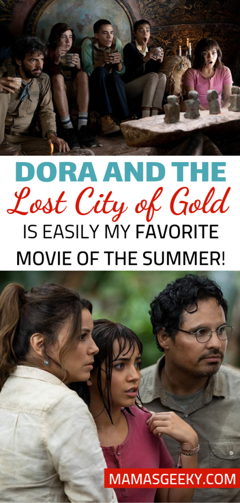 dora and the lost city of gold best movie of summer