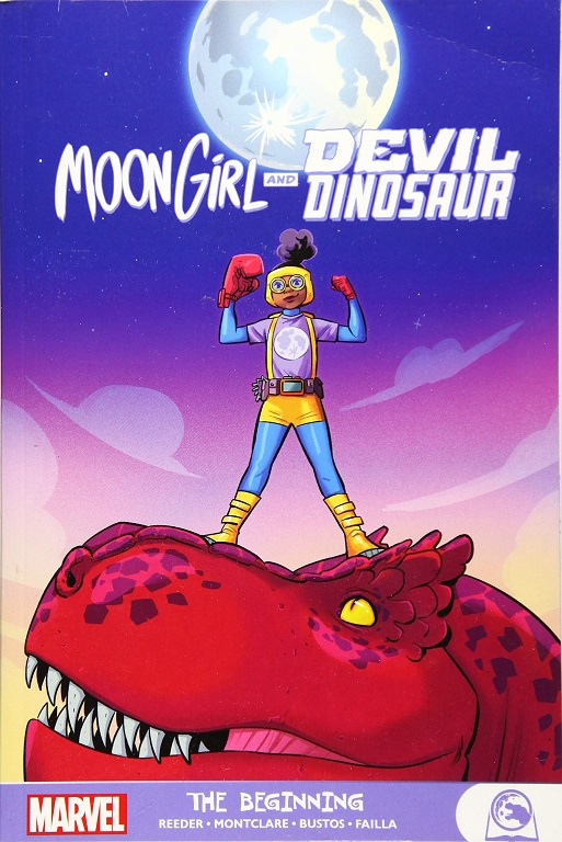 moon girl and devil dinosaur beginning