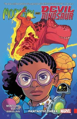 moon girl and devil dinosaur fantastic three