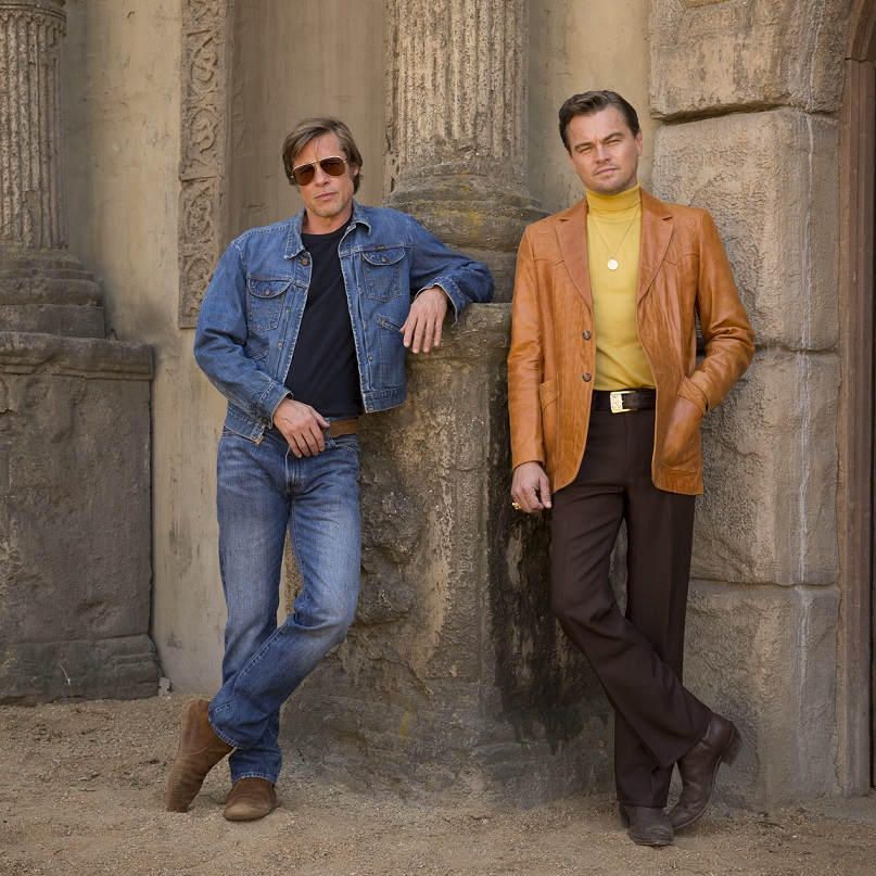 Brad and Leo Once Upon A Time in Hollywood