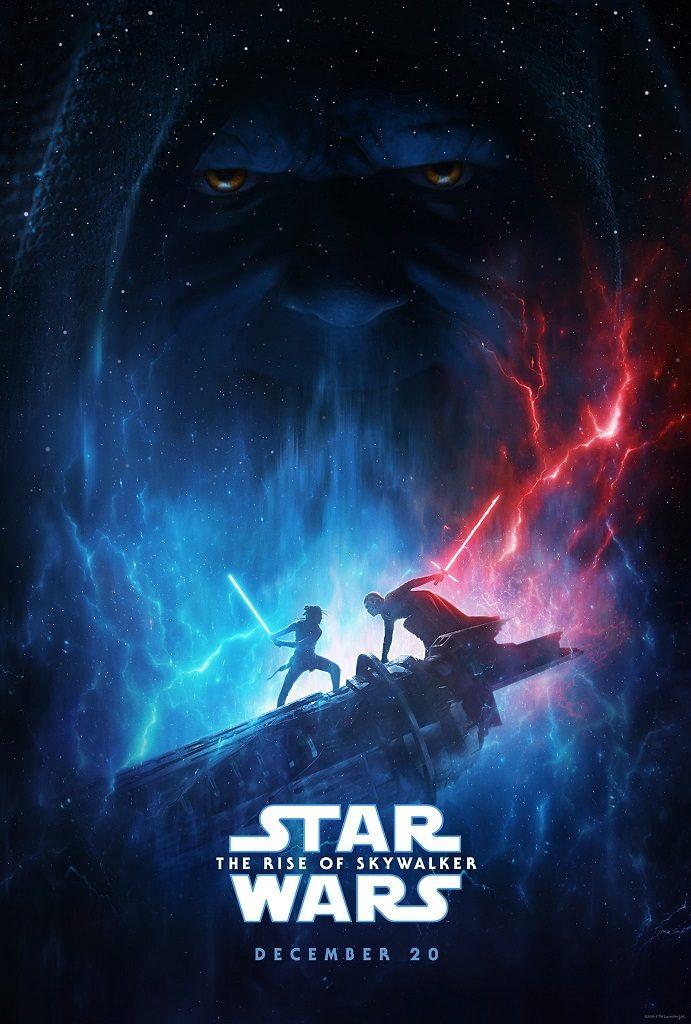star wars the rise of skywalker d23 poster reveal