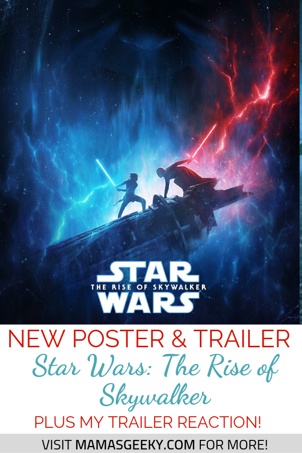 New Star Wars The Rise Of Skywalker Trailer Poster Episode Ix