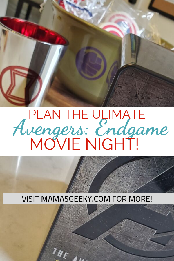 ultimate avengers endgame movie night