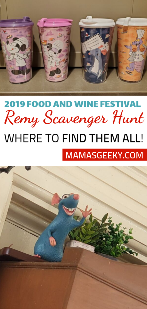 2019 Food & Wine Remy Locations