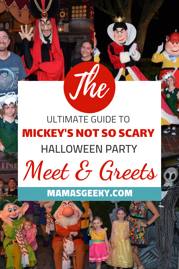 Mickey'S Not-So-Scary Halloween Party 2020 Meet And Greets Mickey's Not So Scary Halloween Party 2019 Character Meet & Greets